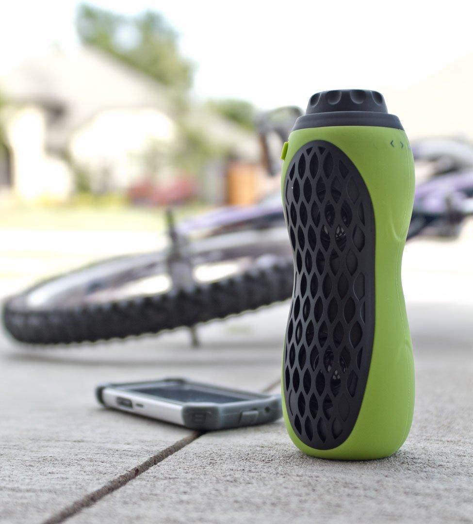 BT Bottle 6 - Portabler, wiederaufladbarer Bluetooth Bike Speaker