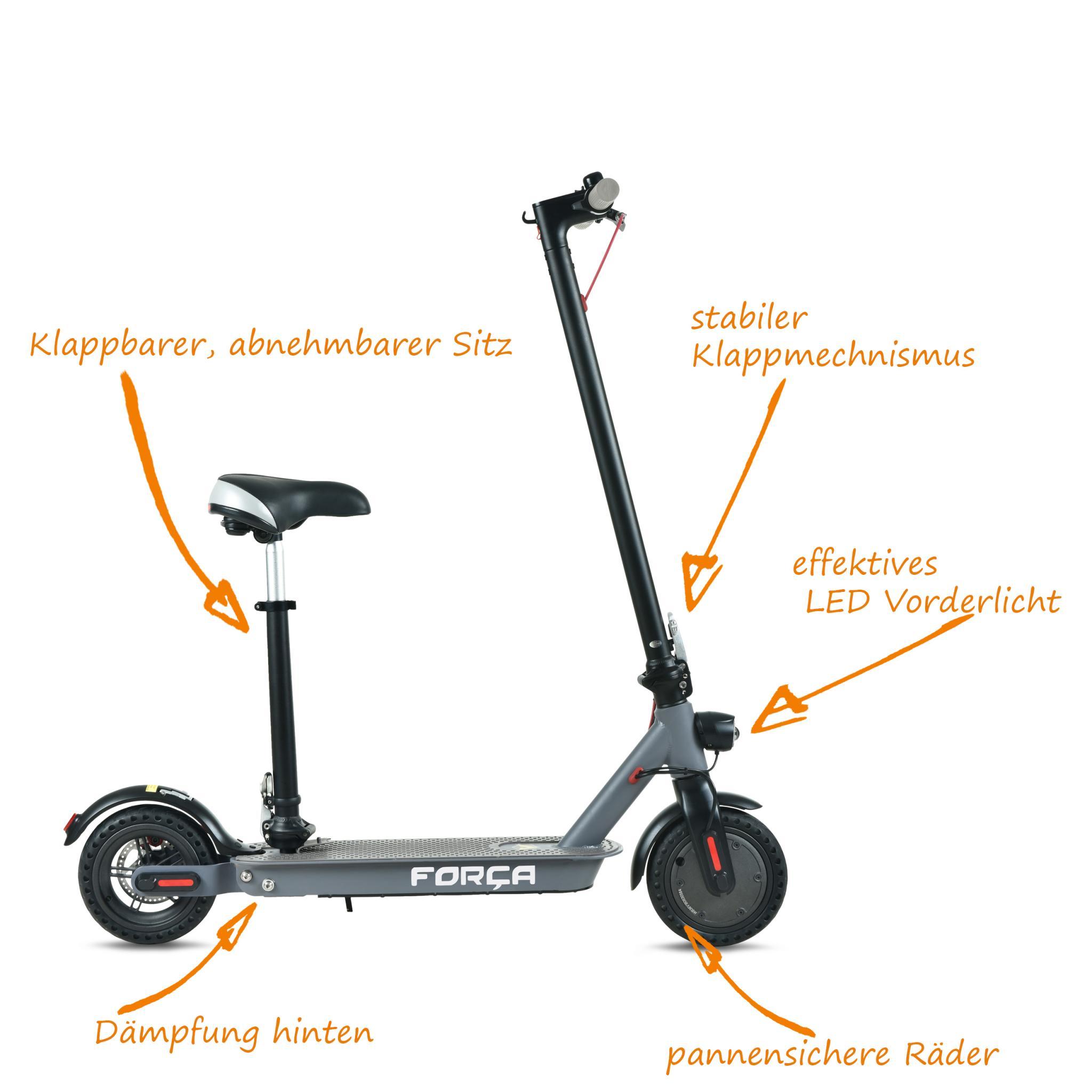 campman e scooter forca sports elektroroller emobilit t. Black Bedroom Furniture Sets. Home Design Ideas