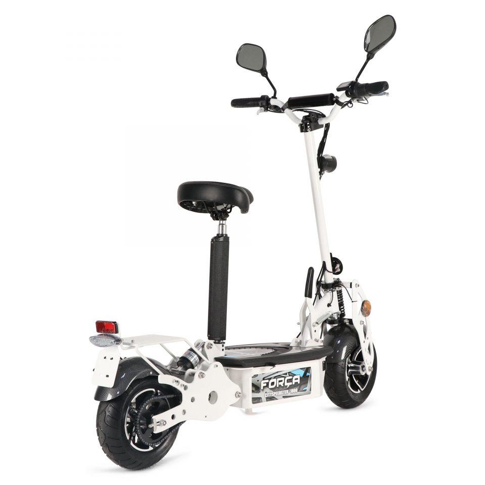 CitySPeedster1800 III White 2 960x960 - Forca CitySpeedster ElektroRoller...auch in weiß