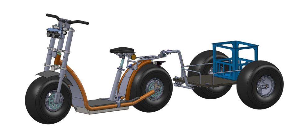 Knumo mit Anhaenger kpl. 600x800 Multibox Achse Dr 960x428 - Hangover-Trailer - die PremiumAnhänger für Forca-Scooter